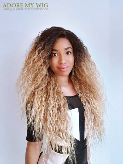 Blonde lace wigs, mooie blonde haarwerk