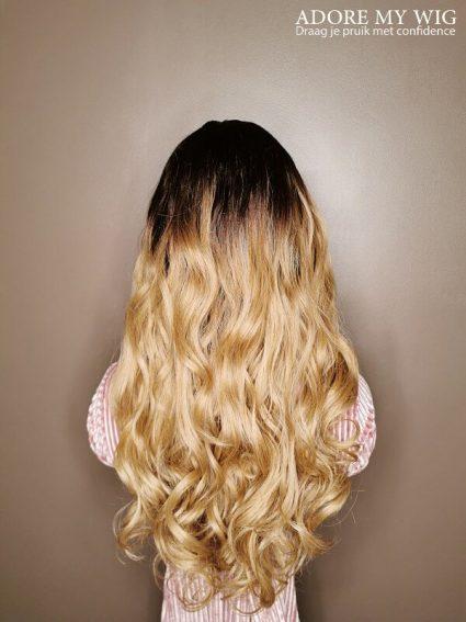 Ombre Bruine Wig
