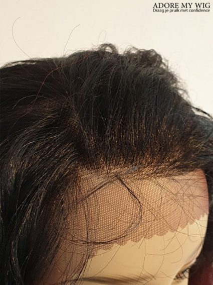 Close up Lace Wig Rood