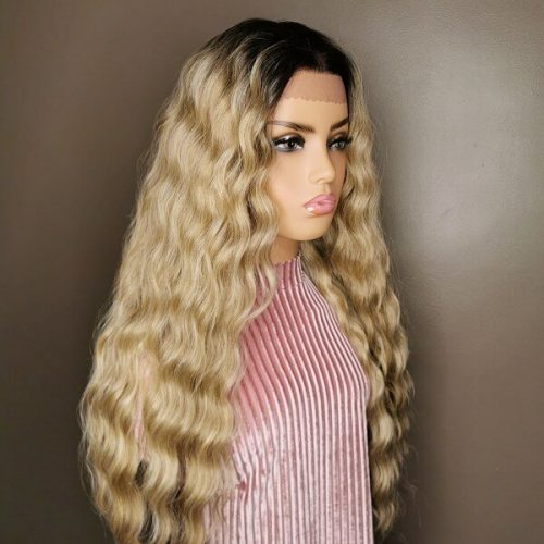 Ashblonde lace wig 13x4