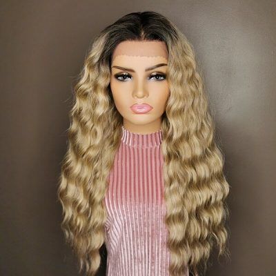 Ashblonde lace wig