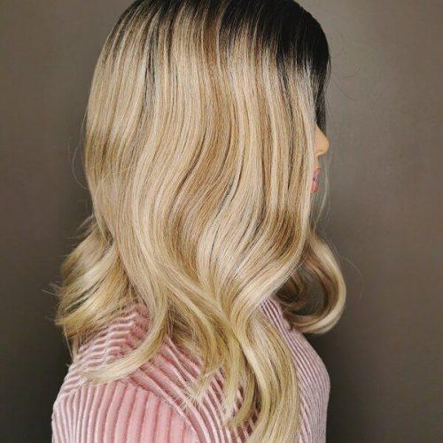 Balayage Lace Wig Kort