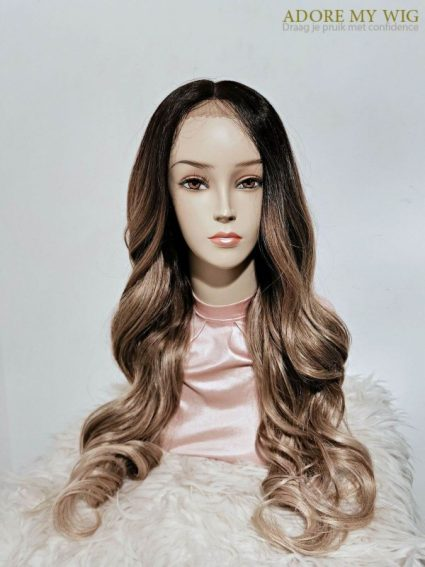 Exclusieve lace front wig balayage Adore My Wig
