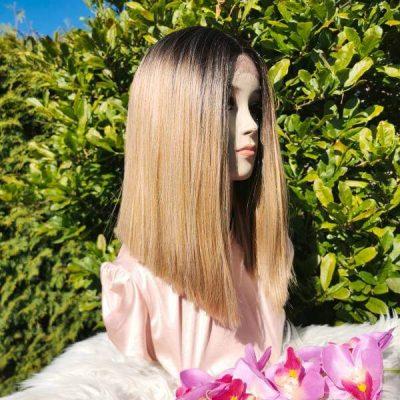 Bob lace wig ombre