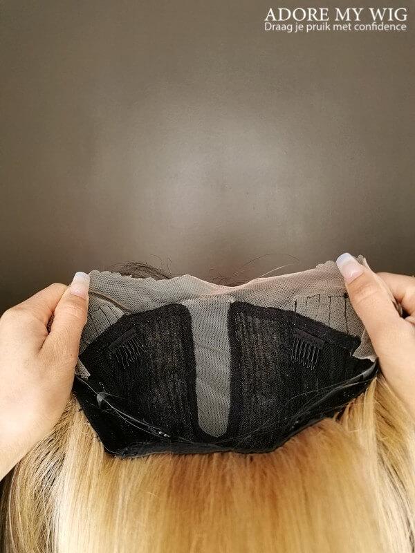 Ombre bruine bob cap
