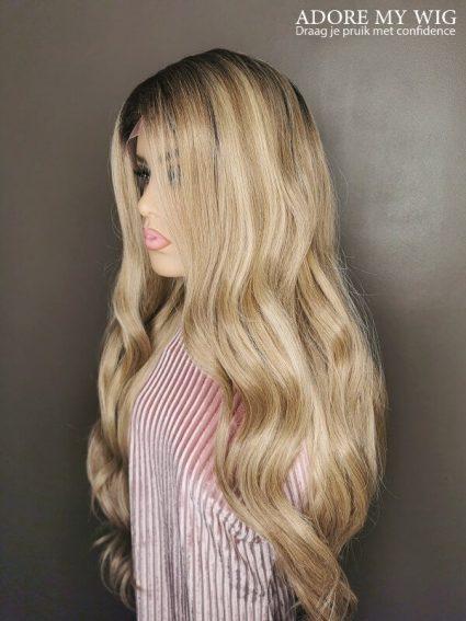 Golden Blonde Wig Adore My Wig