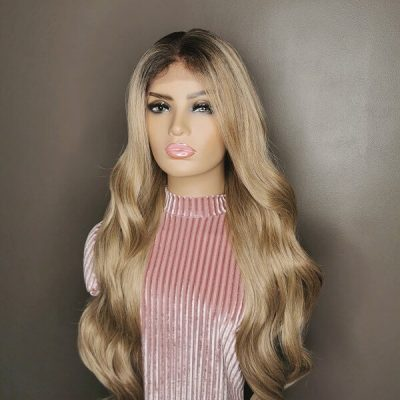 Golden Blonde Wavy Wig Adore My Wig