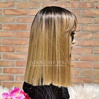 blonde pony wig