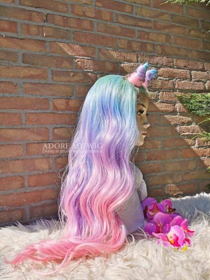 unicorn lace wig