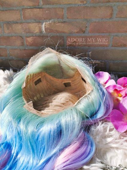 unicorn lace pruik