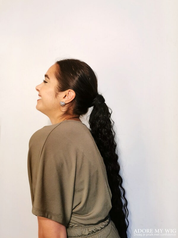 ponytail zwart 1b