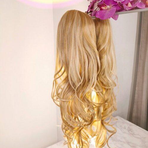 blonde ponytail trekkoord