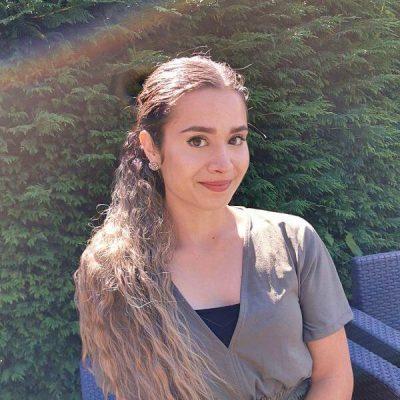 Ombre grijze clip-in ponytail