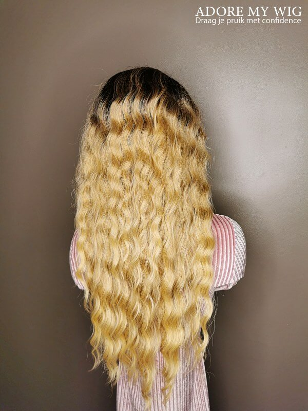 Caribbean Curly Wig ombre