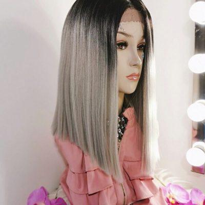 Grijze boblijn Adore My Wig