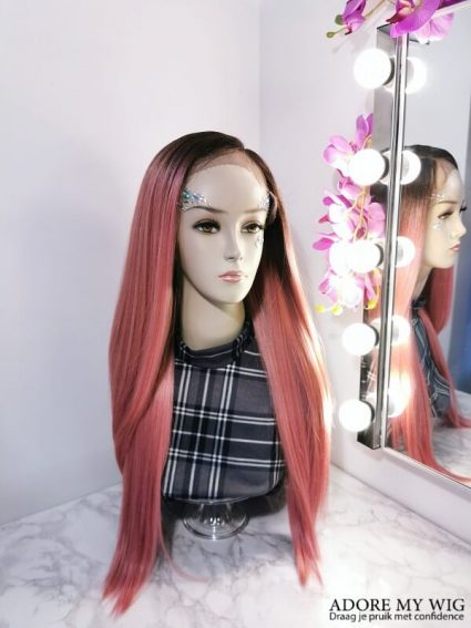 Roze Pruik AdoreMyWig