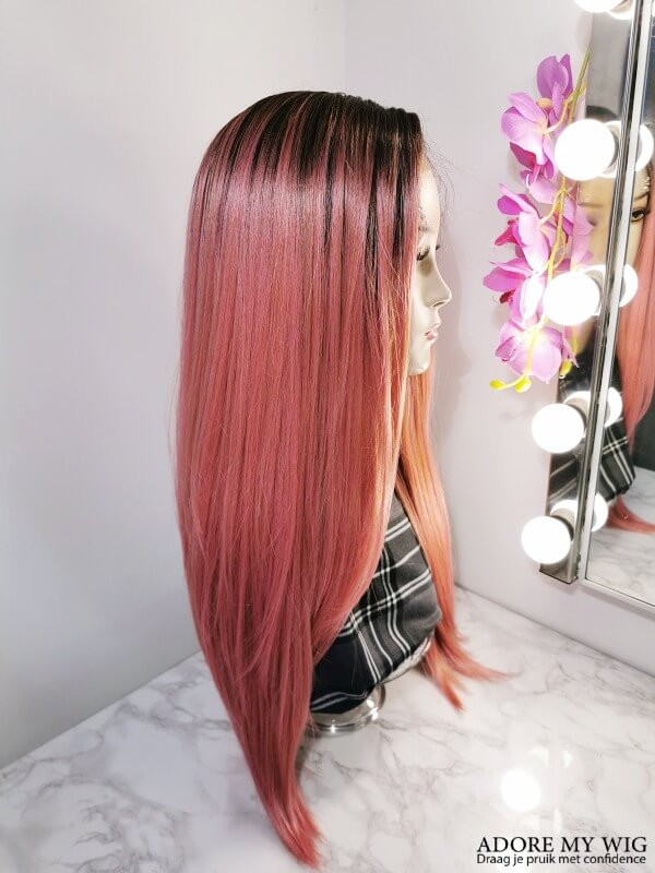 Pink Lace Wig AdoreMyWig