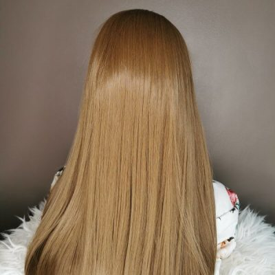 bruine lace front wig