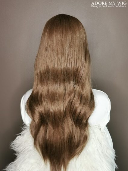 Bruine pruik adore my wig