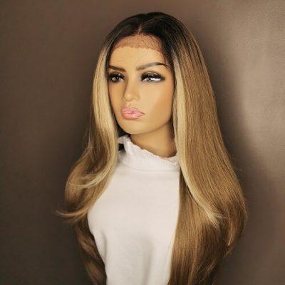 Bruine Highlights 13x4 Wig