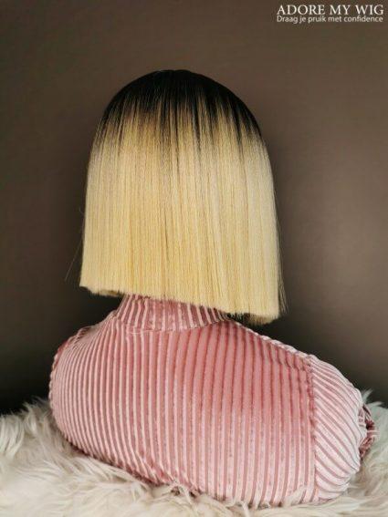 Ombre blonde boblijn