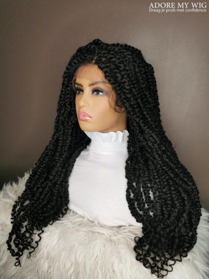 Twists Braided Lace Wig