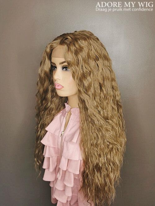 Bruin Closure Wig curly