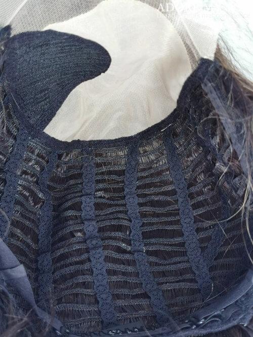 Mono cap lace wig